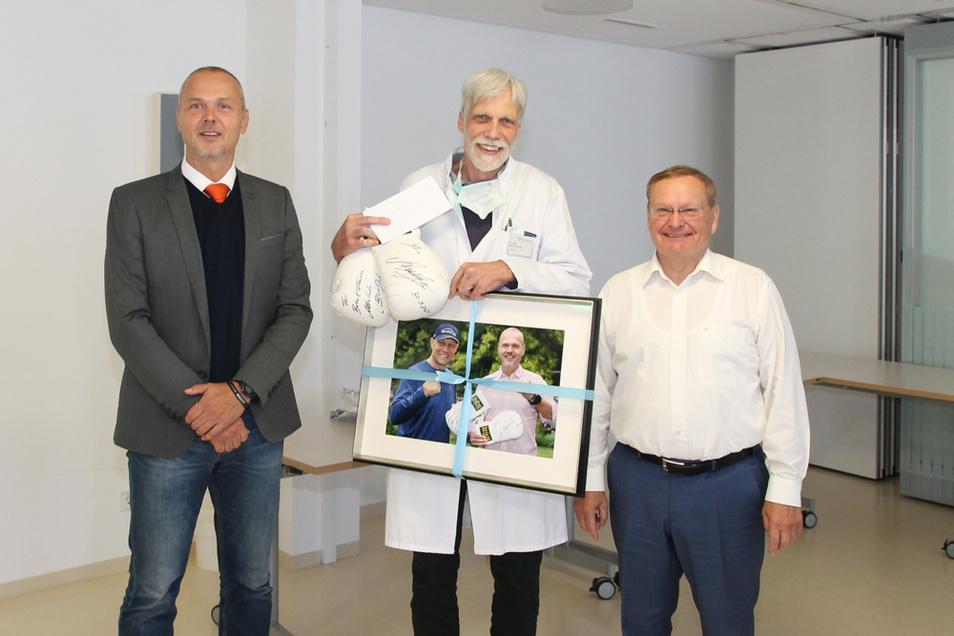 Mirko Papenfuß, Dr. med. Bernd Franzen, Thomas Delling (v.l.n.r.)