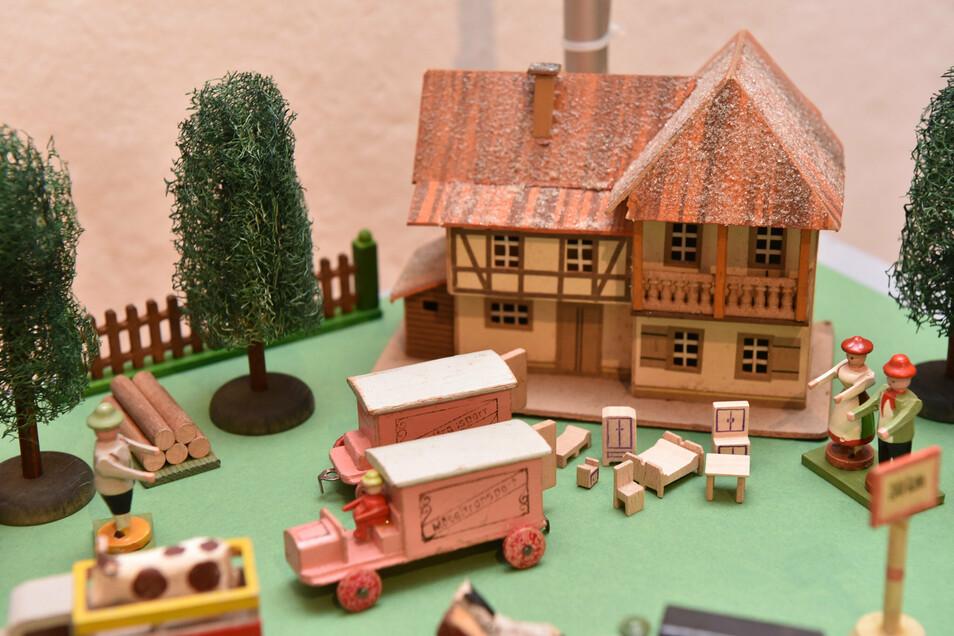 Die Miniaturen leben von ihrer Detailtreue.