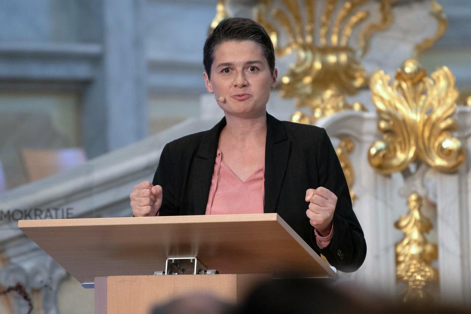 Hört auf: Die SPD-Abgeordnete Daniela Kolbe sucht sich neue Aufgaben.