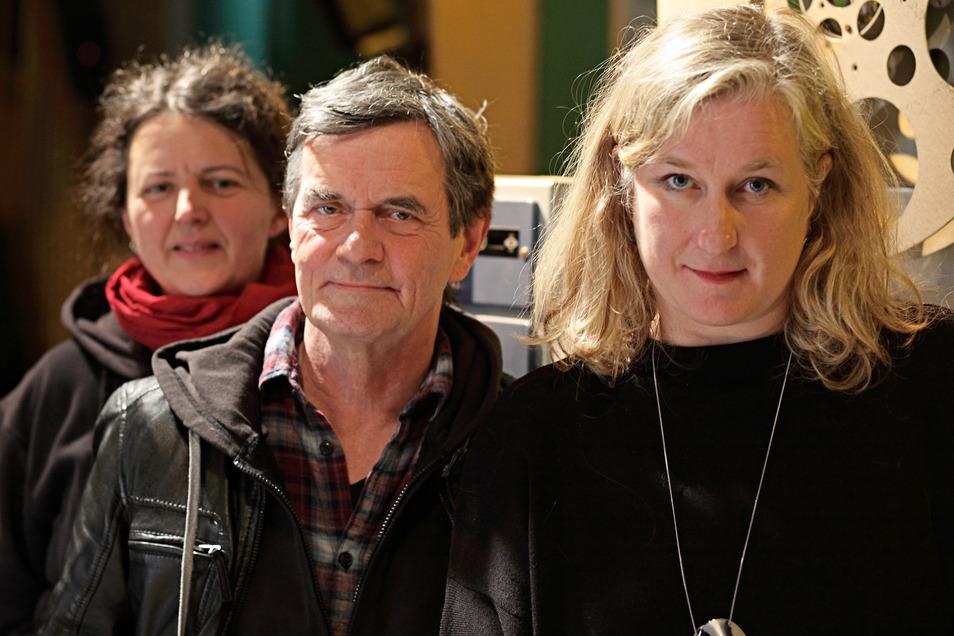 Die Festivalleitung hat die Veranstaltung abgesagt: Antje Schadow, Andreas Friedrich, Ola Staszel.