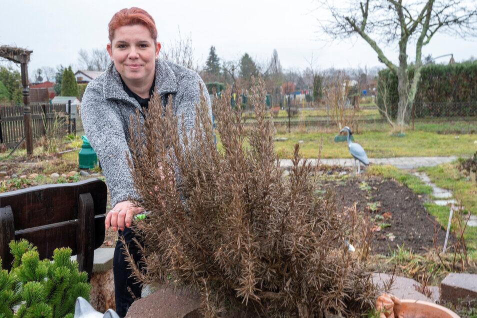 Alexandra Steiner ist die Vereinsvorsitzende in der Sparte Reiter am Stadtpark. Dort konnte sie im vergangenen Jahr mehr als 50 neue Gartenfreunde begrüßen.
