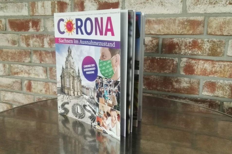 """Das Buch """"Corona – Sachsen im Ausnahmezustand"""" ist in allen DDV-Lokalen/SZ-Treffpunkten erhältlich."""