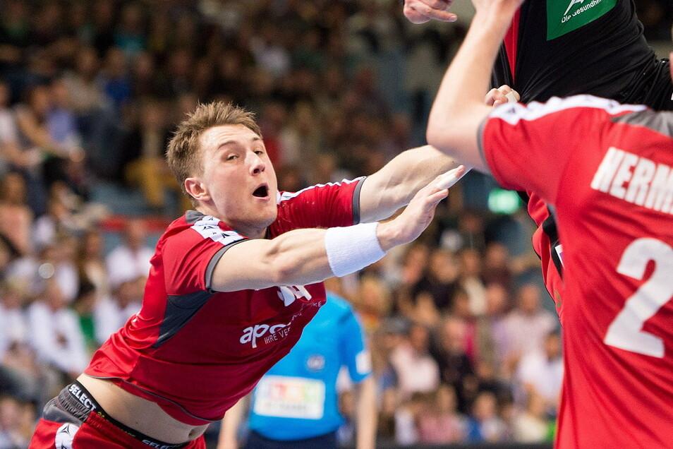 Der Österreicher Christoph Neuhold packt in der kommenden Saison für den HC Elbflorenz zu.