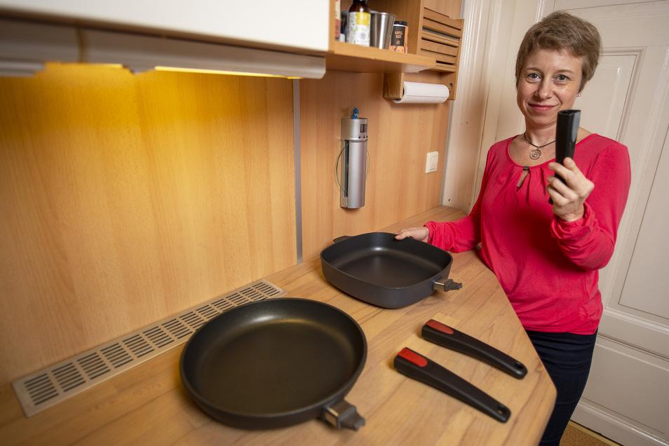 Pfannen und Stiele – was weiter verwenden? Am 15. Januar erklärt Birte Dresler in einem Kurs, wie man erfolgreich aufräumt. Ende Januar geht es dann darum, die Ordnung zu halten.