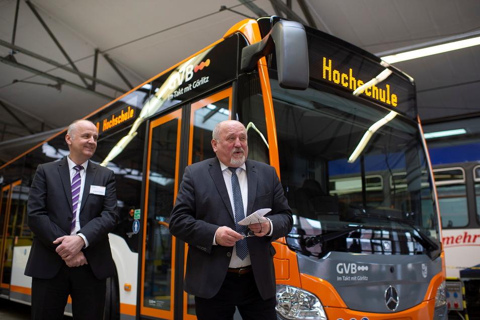 Über neue Busse konnten sich die Görlitzer Verkehrsbetriebe 2019 und 2020 freuen.