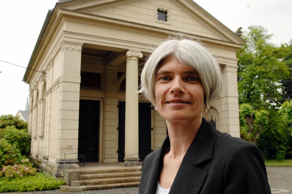 Antje Pech ist die Superintendentin des evangelischen Kirchenbezirks Löbau-Zittau.