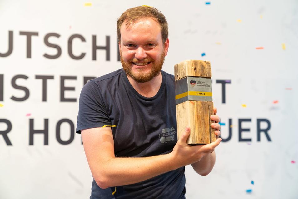 Der Aachener Nils Lichtenberg (38) ist neuer Deutscher Meister der Hobbybrauer