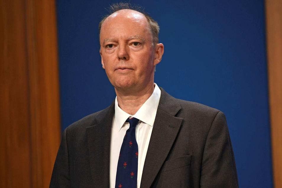 Chris Whitty, medizinische Berater der britischen Regierung in Corona-Fragen.
