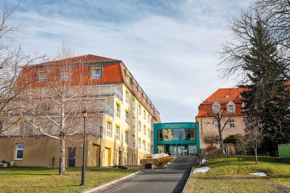 """Das Altenpflegeheim """"Friedrich Wagner"""" der Awo in Olbersdorf."""