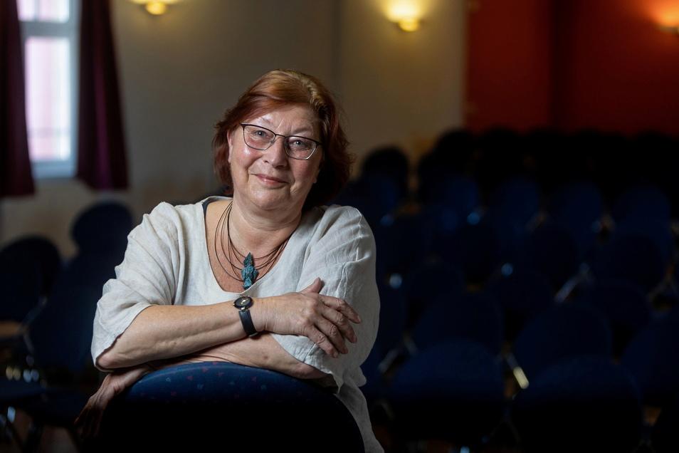 Freitals Kulturhauschefin Angelika Schminder geht in den Ruhestand.