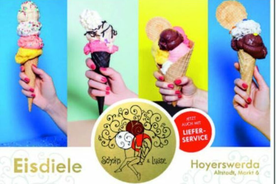 Passend zum Frühlingswetter gibt's in Hoyerswerda einen Eislieferservice. Alle Infos auf #ddvlokalhilft