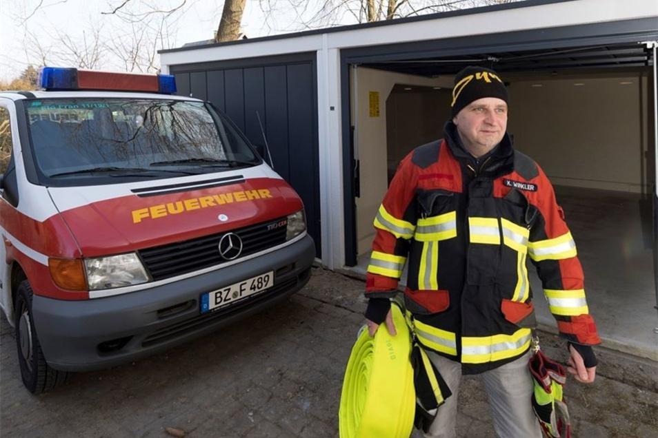 Hilfe für die Feuerwehr