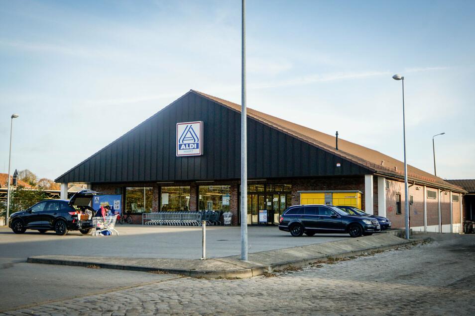 Was aus dem bisherigen Aldi-Standort Am Güterbahnhof wird, steht noch nicht fest. Es soll aber Interessenten für eine neue Nutzung geben.
