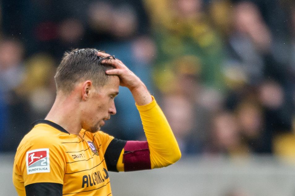 Im Dynamo-Trikot wird Jannik Müller nicht mehr auf dem Platz stehen.