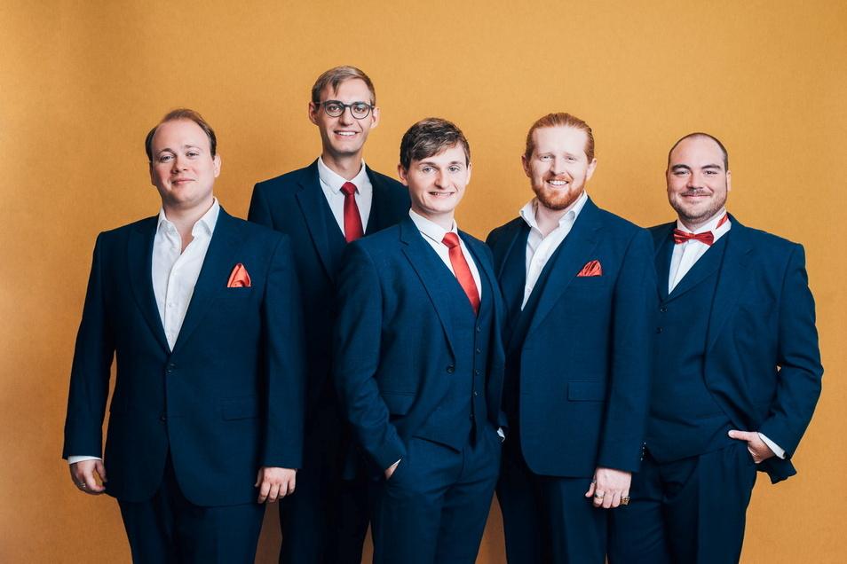 """Das Ensemble """"Nobiles"""" aus Leipzig ist am Sonntag zu Gast in Roßwein."""