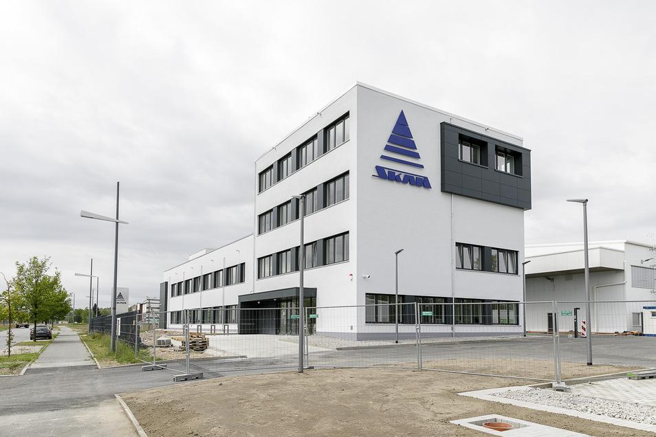 So sieht das neue Verwaltungsgebäude von Skan in Görlitz-Hagenwerder aus.