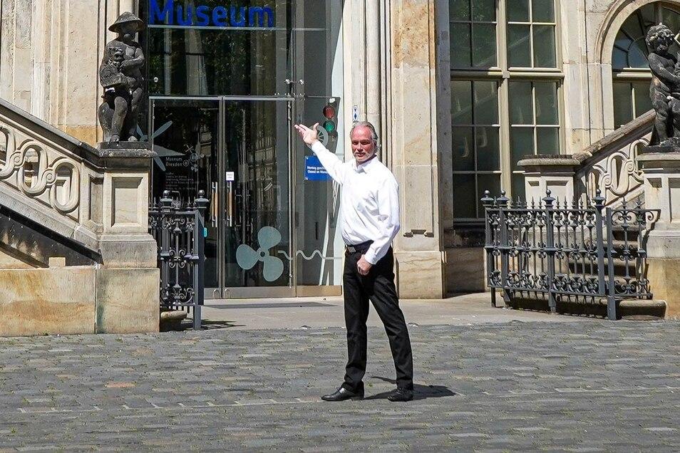 André Sarrasani ließ sich vom Verkehrsmuseum inspirieren.