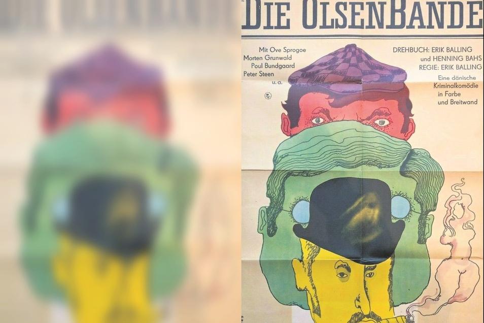 Olsenbanden-Plakat 1970