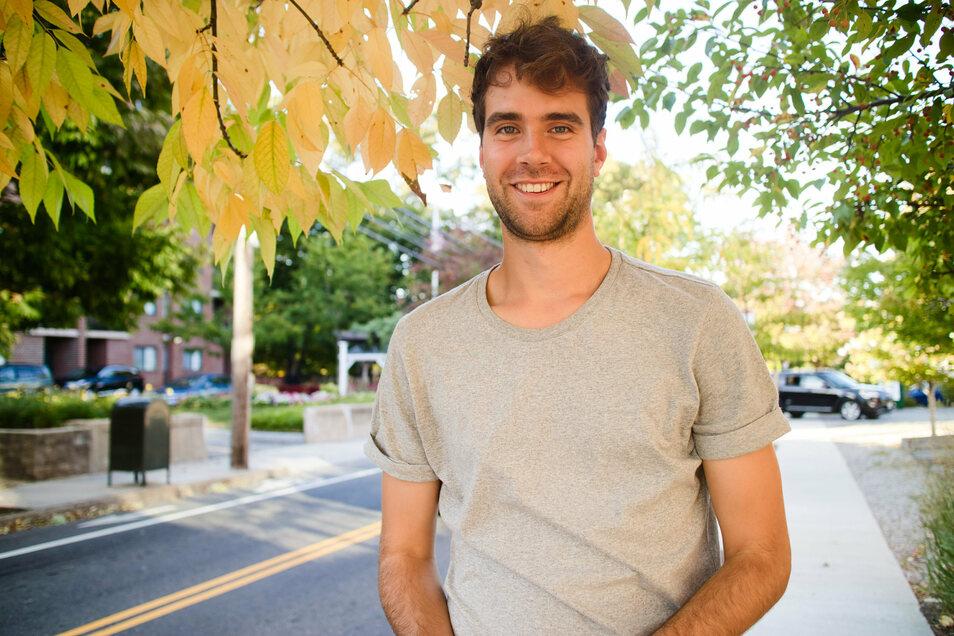 Maximilian Klein aus Deutschland studiert an der Universität Harvard im Bostoner Vorort Cambridge und müsste die USA jetzt eigentlich verlassen.