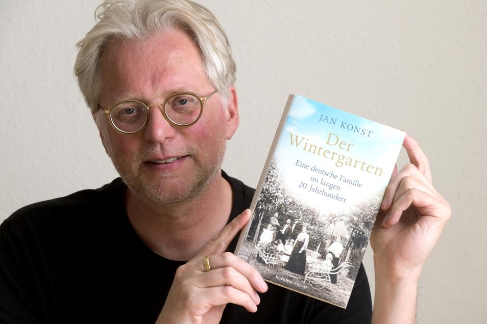 """Bestseller-Autor Jan Konst las in Seifhennersdorf aus seinem erfolgreichen Buch """" Der Wintergarten"""", das vom Leben einer Seifhennersdorfer Familie von 1871 bis in die Gegenwart berichtet."""