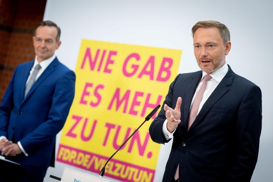 Wollen gemeinsam Vor-Sondierungen führen. Volker Wissing (l.) und Christian Lindner.