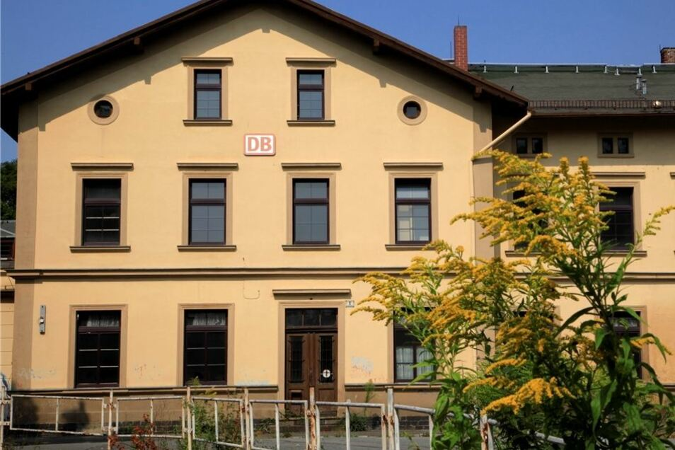 Bahnhof Seifhennersdorf. Stadt und Investor wollen ihn beleben.