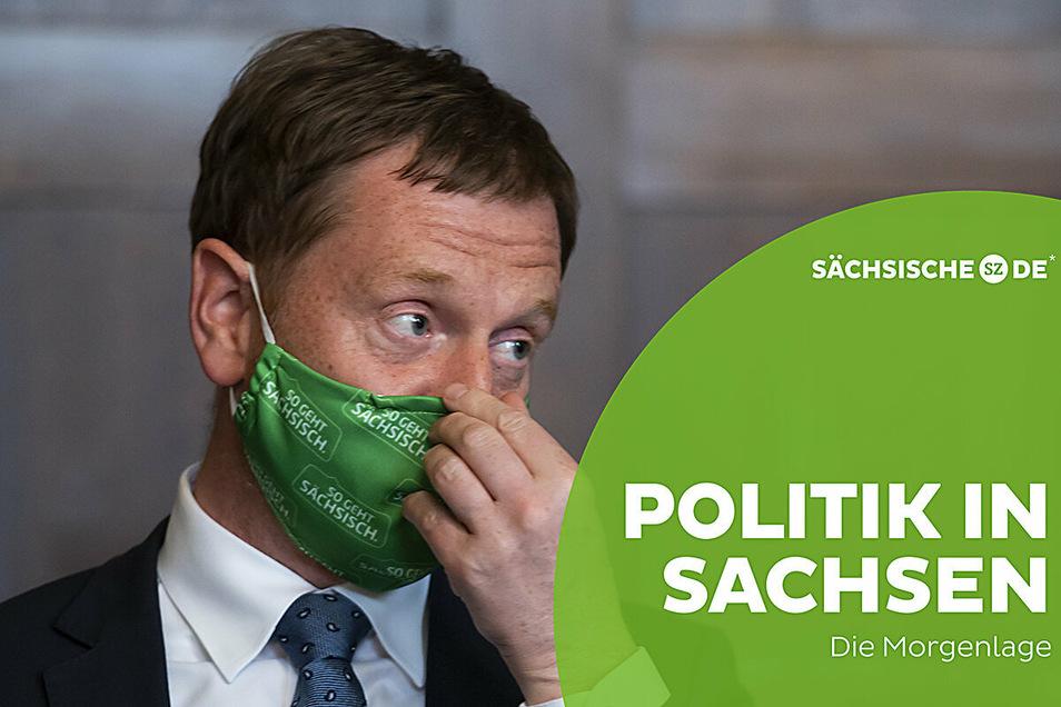 Ministerpräsident Michael Kretschmer (CDU) will keine vorschnellen Entscheidungen zu weiteren Schritten in der Corona-Krise.