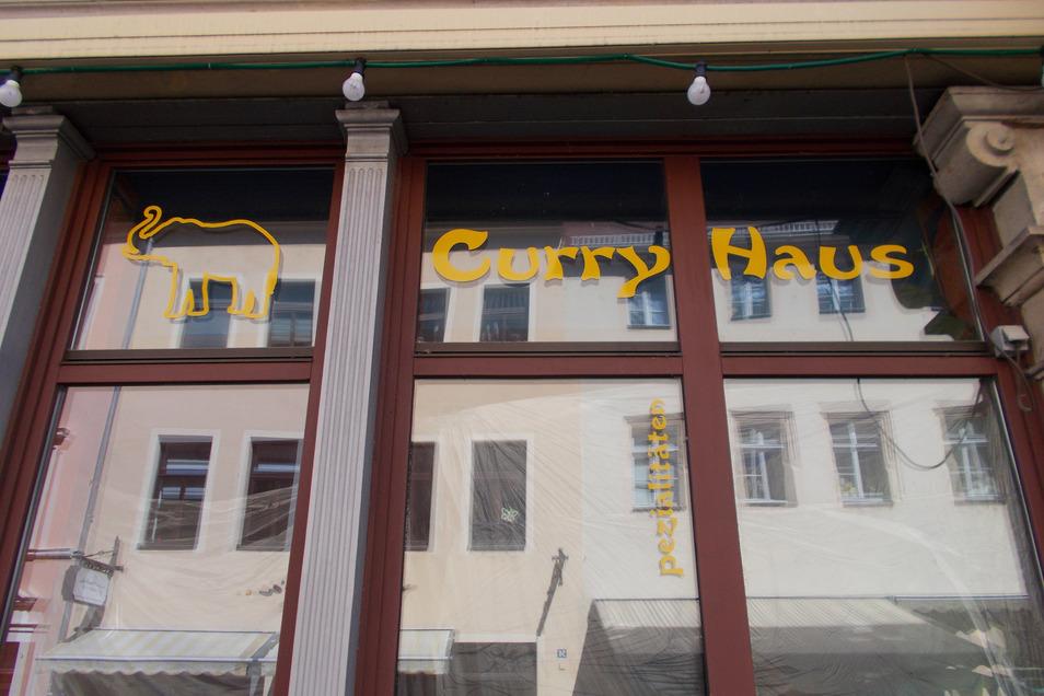 Der indische Imbiss Curry-Haus in der Dohnaischen Straße hat zugemacht.