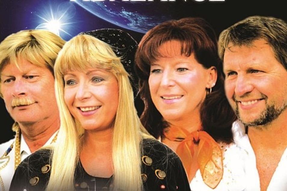 Eine ABBA-Show ist am Samstag in den Parksälen Dippoldiswalde zu erleben.