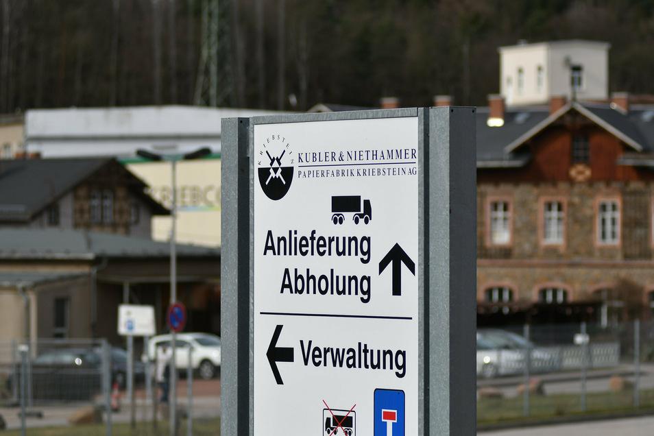 In der Papierfabrik Kübler & Niethammer laufen die Tarif-Verhandlungen.