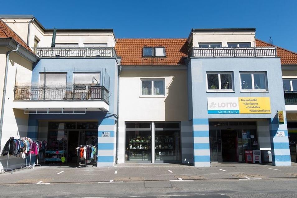 In diesem Haus in der Dresdner Straße in Heidenau besaß Jens R. eine Wohnung ...