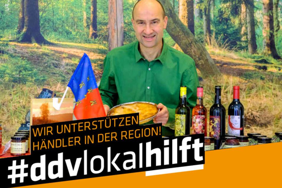 """Heinrich Schmorrde bietet im """"Transilvanus"""" Köstlichkeiten aus Siebenbürgen."""