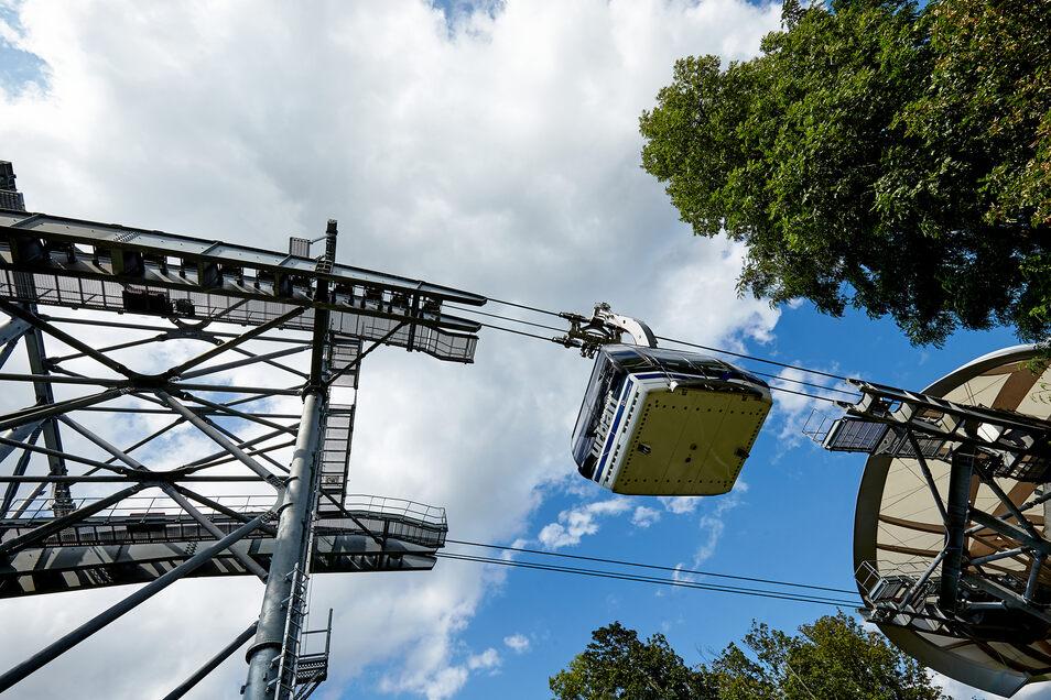 Ein glücklicher Umstand: Denn Doppelmayr nutzt die Dreisleilumlaufbahn als Vorführanlage.