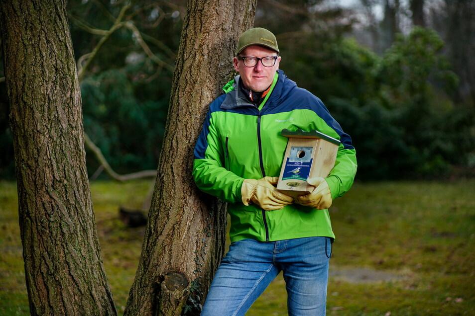 Die Vielfalt der Gartenvögel sollten die Menschen unterstützen, indem sie auf ihren Grundstücken für genügend Nistmöglichkeiten sorgen, findet Naturfreund Maik Nollain.