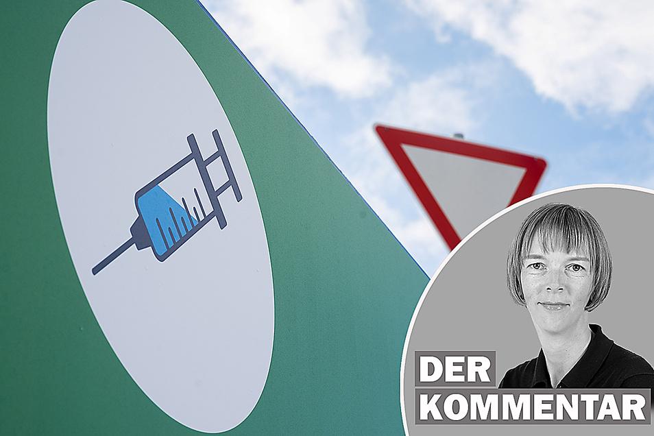 SZ-Redakteurin Karin Schlottmann über den Ausbau der Impfzentren in Sachsen.