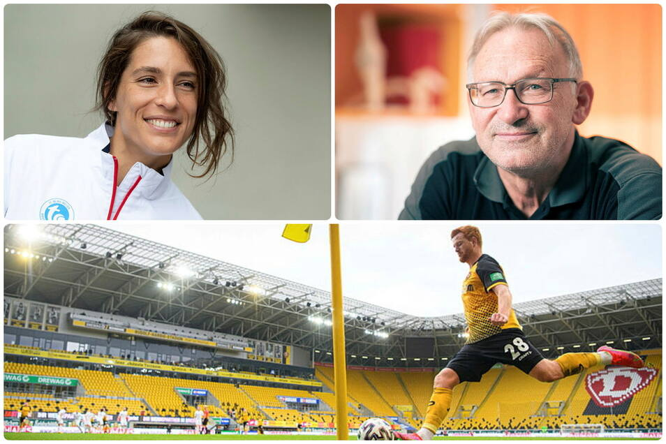 Der Sportmontag aus sächsischer Sicht: Andrea Petkovic schlägt wieder für Dresden auf, Jan Hoffmann erinnert sich an seine Trainerin und Dynamo Dresden wird zum Testbetrieb.