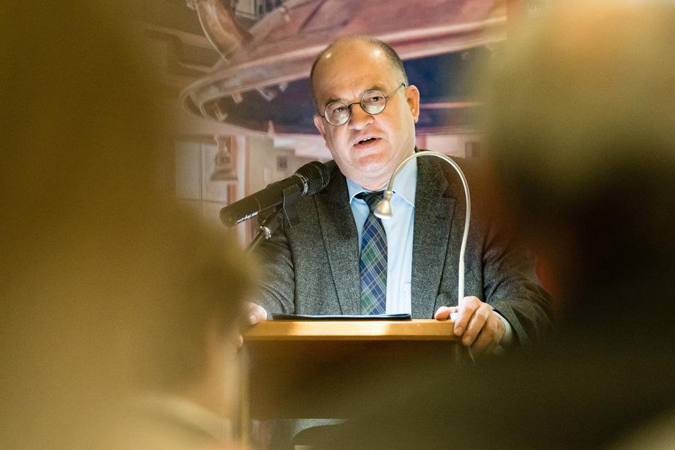 Der Dresdner CDU-Bundestagsabgeordnete Arnold Vaatz