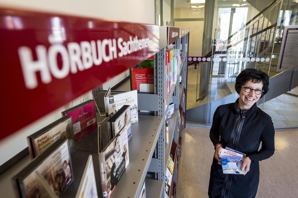 Die Stadtbibliothek Görlitz ist wieder zu den üblichen Öffnungszeiten zugänglich und bietet auch Hörbücher für Blinde und Sehbehinderte an.