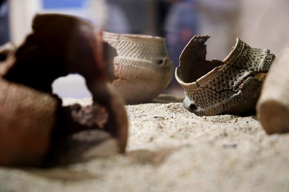 In und um Riesa wurde viele Kugelamphoren gefunden. Sie stammen etwa aus der Zeit, in der auch Ötzi lebte.