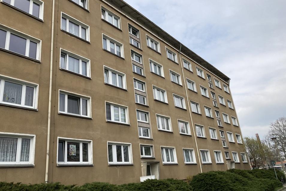 """Das """"Spukhaus"""" in der Zittauer Südstraße."""