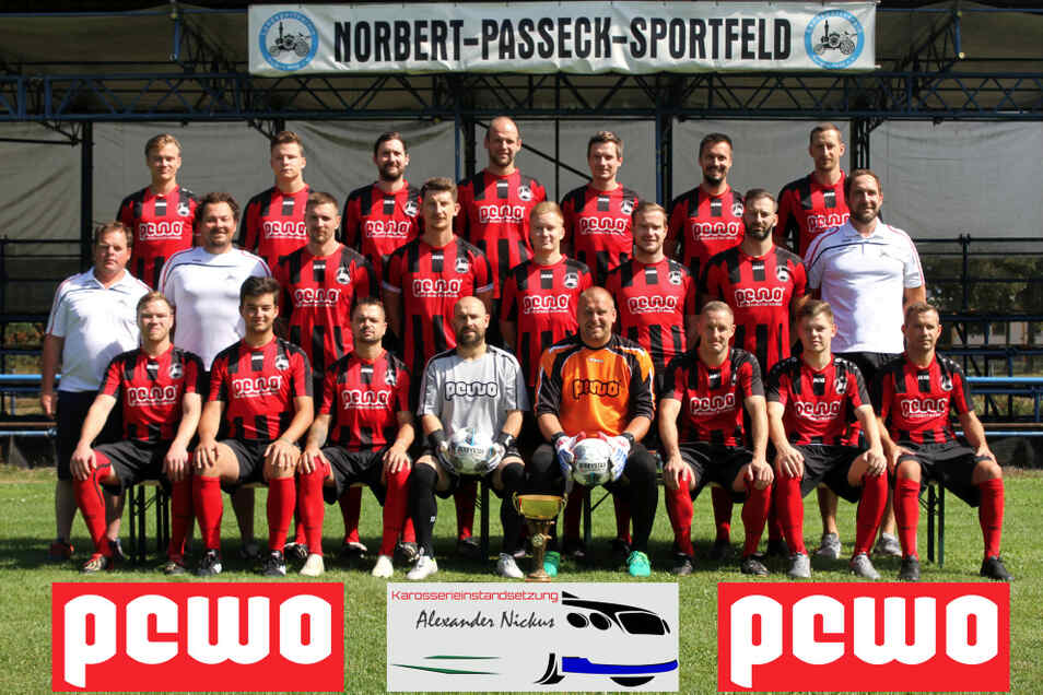 1. Männermannschaft vom LSV Bergen 1990 Saison 2020/2021