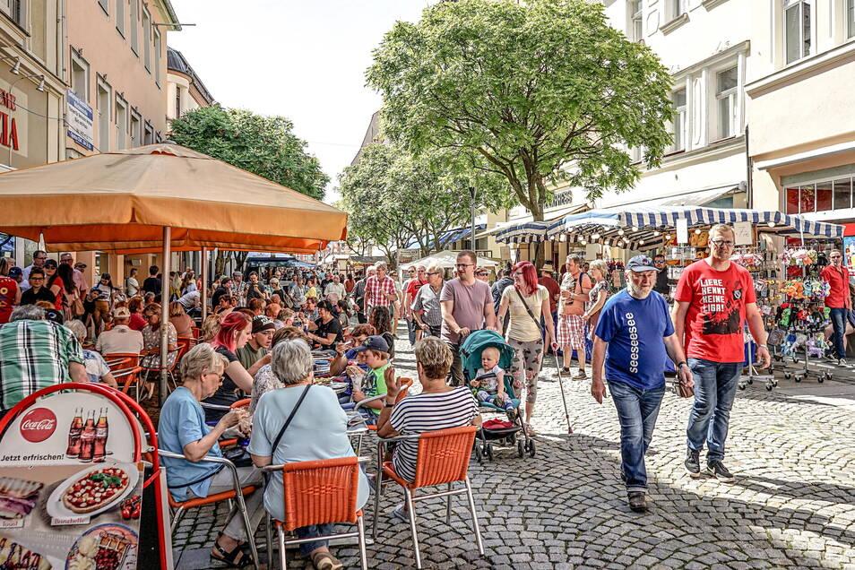 Impulse für das Miteinander-Leben in Bautzen - das Foto entstand beim Stadtfest Bautzener Frühling 2019 - will eine Fachkonferenz liefern, die am 16. Oktober stattfindet.