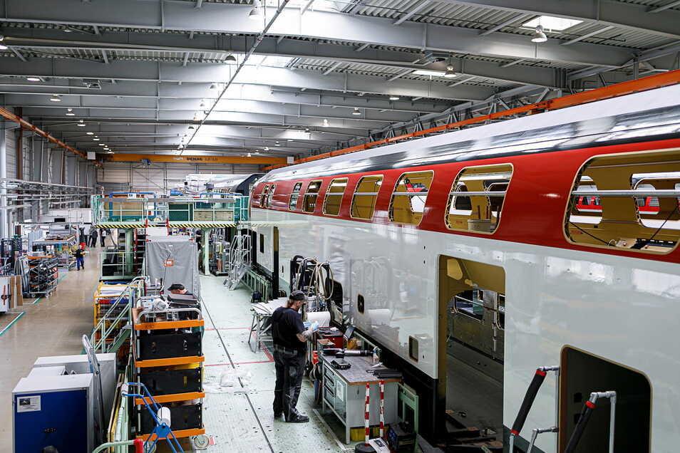 Die neue Firma BSG Components beliefert auch das Alstom-Werk in Görlitz. Ihre Teile sind fast in allen Wagen des Görlitzer Waggonbaus zu finden.