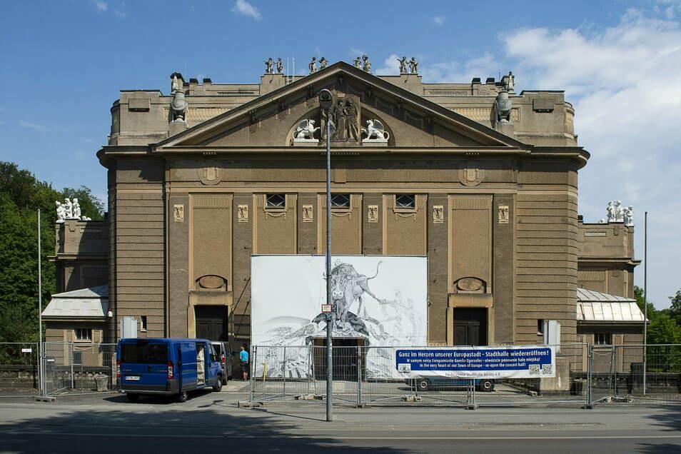Seit Jahren wird die Sanierung der Görlitzer Stadthalle vorbereitet.