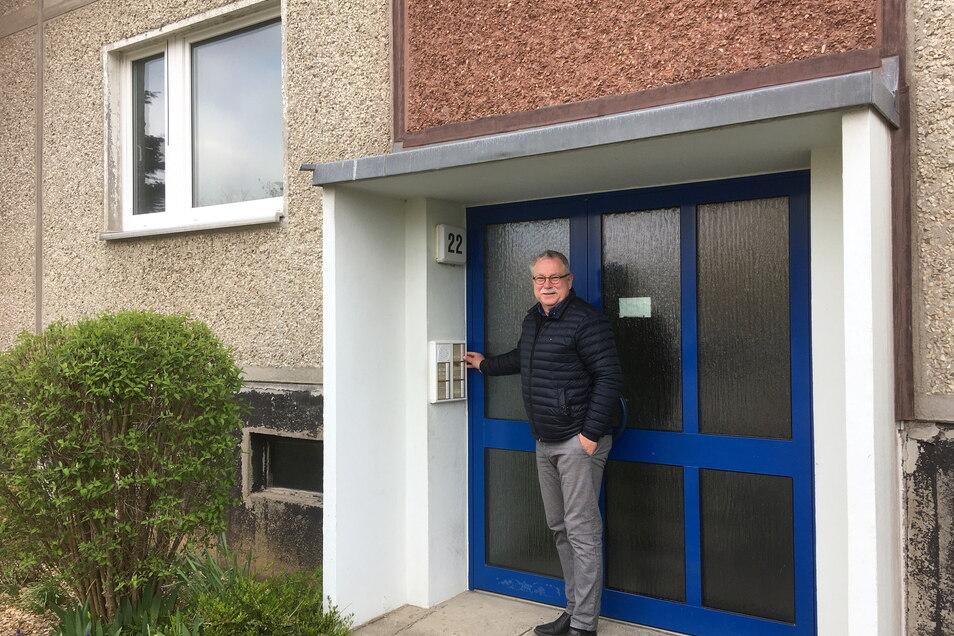 Tilo Hönicke wohnte in den 80er Jahren auch in Großenhains größtem Neubaugebiet: in der damaligen Otto-Grotewohl-Straße 22.