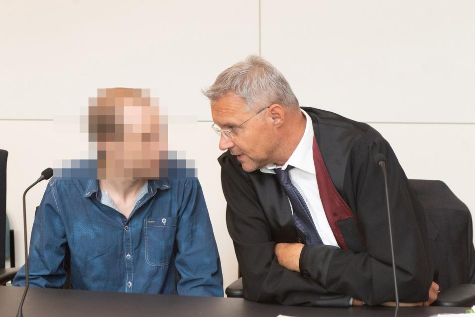 Nino K. bei seiner Verurteilung  am 31. August 2018.
