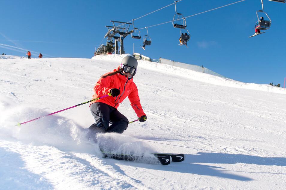 Schnee, Skifahren, Beisammensein - darauf freuen sich die Schüler. Das Curie-Gymnasium bleibt entspannt.