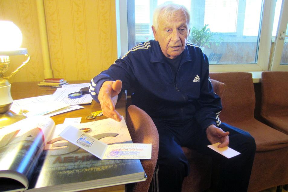 Nikolaj Stepanenko ist heute 88. Er war nach der Reaktorkatastrophe von Tschernobyl für die Umsiedlung der Einwohner der Städte Prypjat, Tschernobyl und weiteren 27 Dörfern verantwortlich.