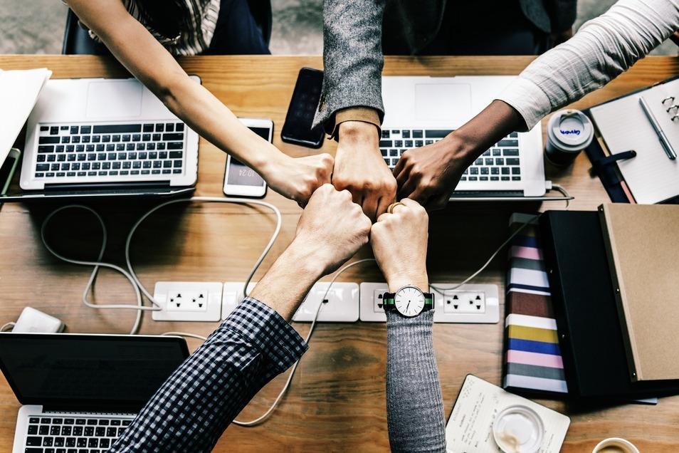 Teamarbeit ist ein wichtiges Kriterium.