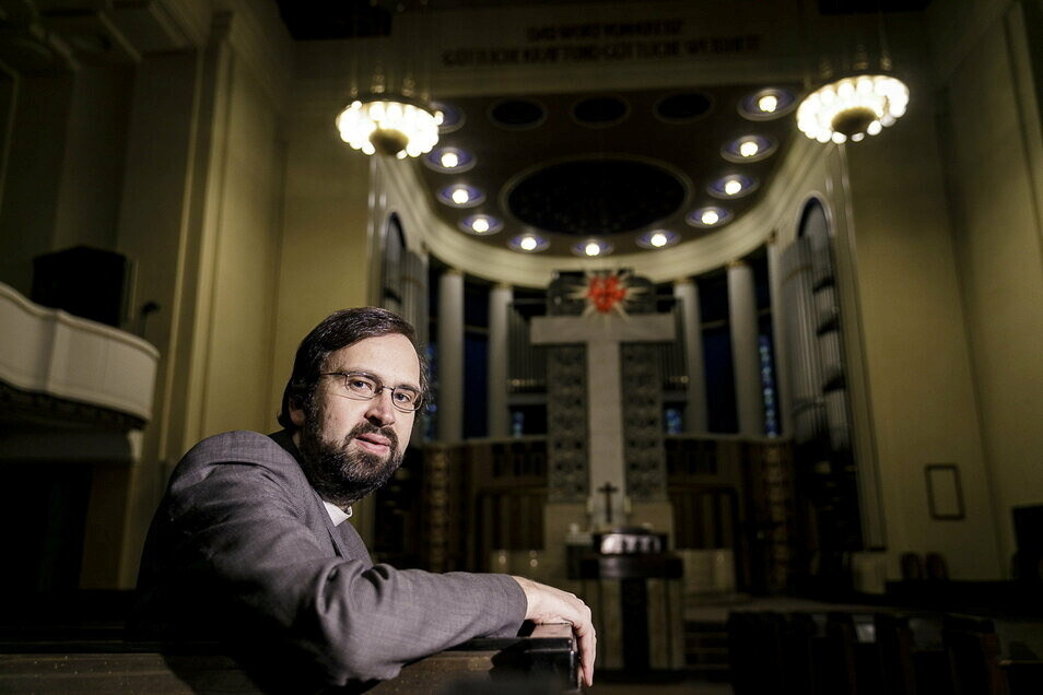 Albrecht Bönisch ist Pfarrer der Kreuzkirche in Görlitz und leitet die ACK.